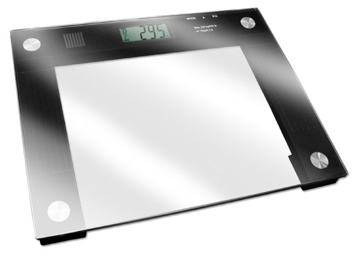 Talking Extra Wide Glass Top Scale