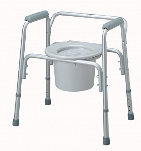 Lightweight Aluminum Commode