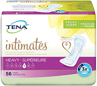 Tena Heavy (Regular Length) Pads -- cs 168