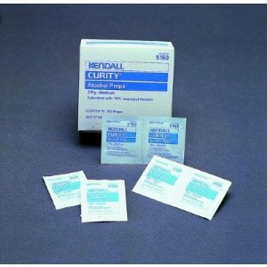 Alcohol Prep Pads - Box 0f 200