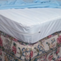 Full Sized zippered Plastic Mattress Cover