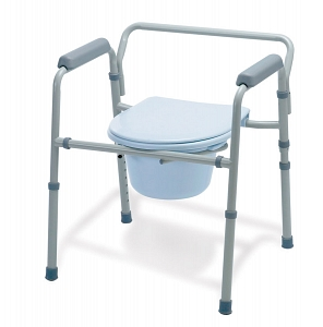 Foldable Aluminum Commode