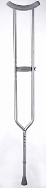 Tall Adult Heavy Duty Crutches -- pair