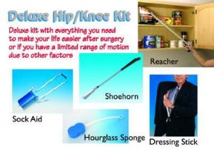 Hip Replacement Surgery Helper Kit