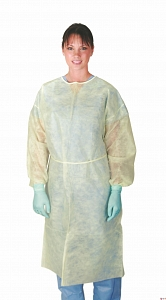 Isolation Gowns/Bag of 10 - OUT OF STOCK