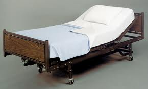 Semi-Electric Hospital Bed w/ Mattress Monthly Rental